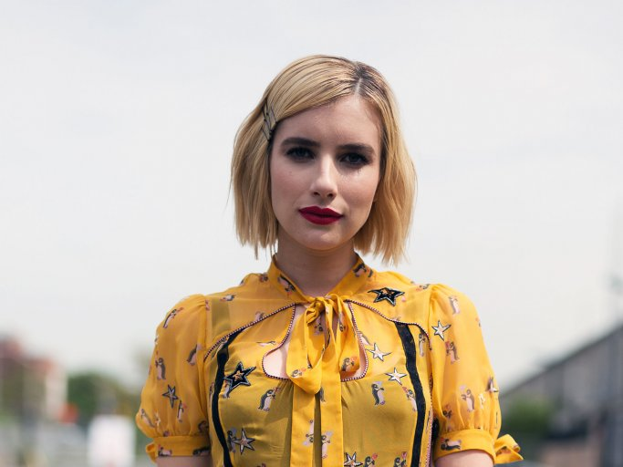 Blunt Bob von Emma Roberts | © Getty Images | Matthew Sperzel