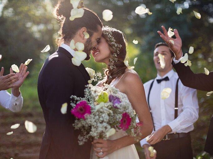 Zusammen wie braut sprüche passen bräutigam und Braut und