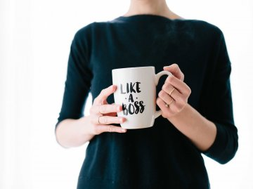 Like a boss Tasse | © Unsplash.com | Brooke Lark