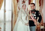 Rainier III, Prince of Monaco und Princess Grace Kelly an ihrer Hochzeit | © Getty Images | 3777 | Kontributor