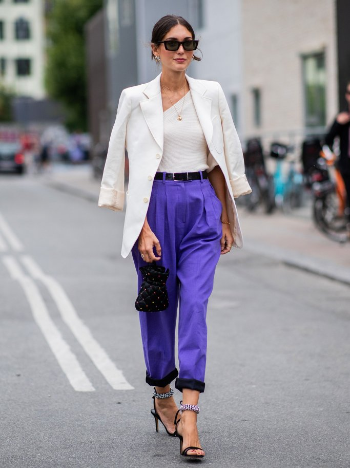 Street Style von Diletta Bonaiuti bei der Kopenhagen Fashion Week | © Getty Images | Christian Vierig