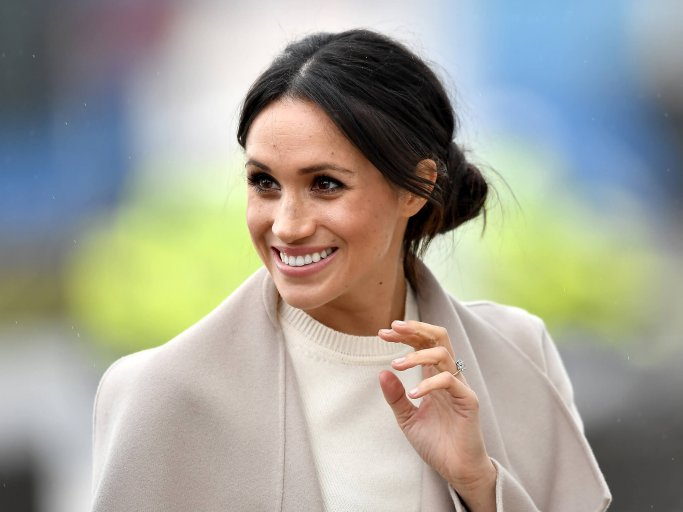 Meghan Markle mit Low Bun  | © Getty Images | Charles McQuillan