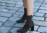 Sock Boots mit Leo-Print | © Getty Images | Jeremy Moeller