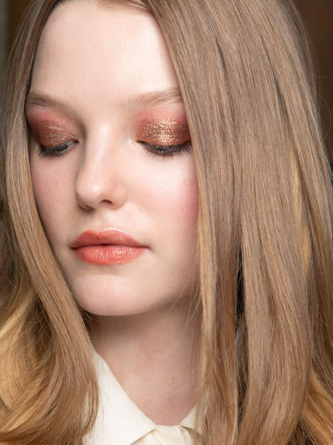 Bronze Augen Make-Up | © Getty Images | Rosdiana Ciaravolo