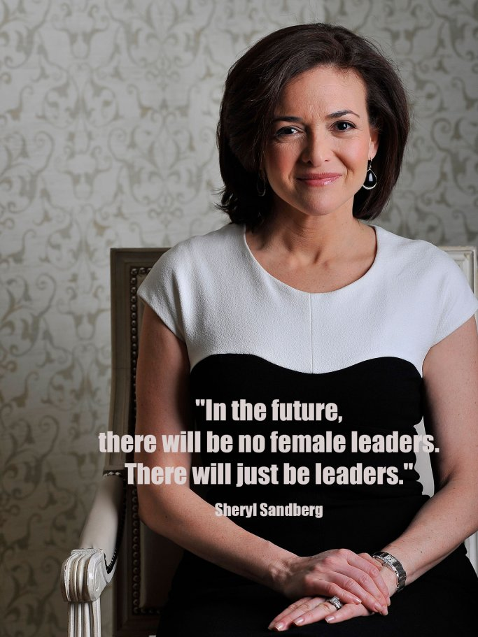 Sheryl Sandberg Zitat | © Getty Images | The Washington Post