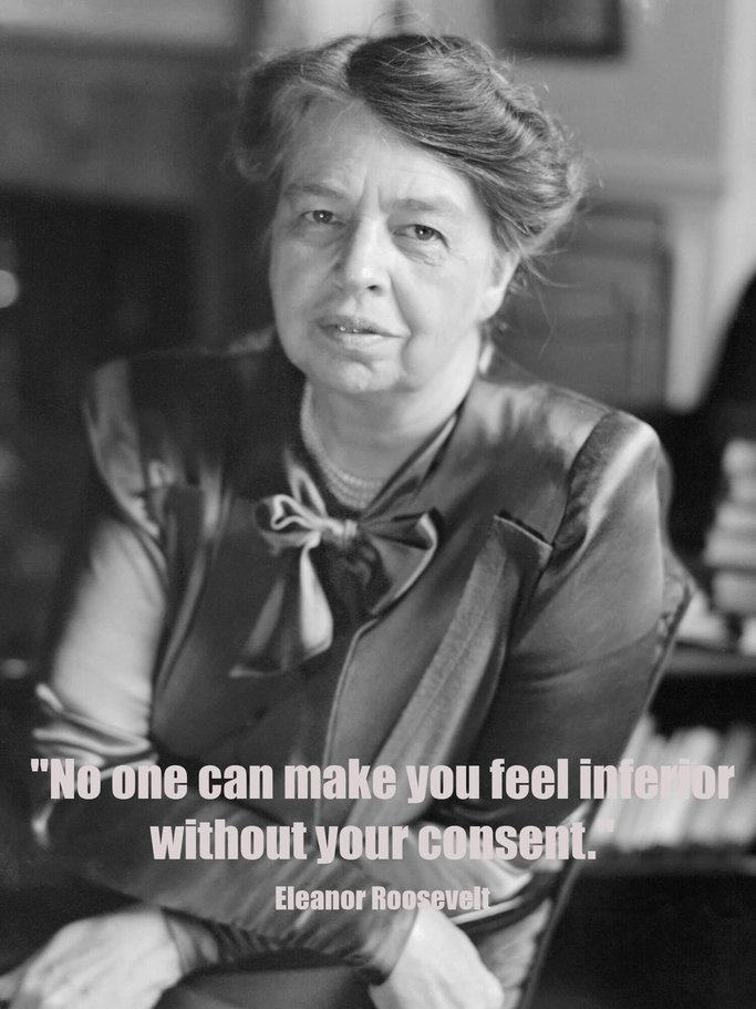 Eleanor Roosevelt Zitat | © Getty Images | Bettmann