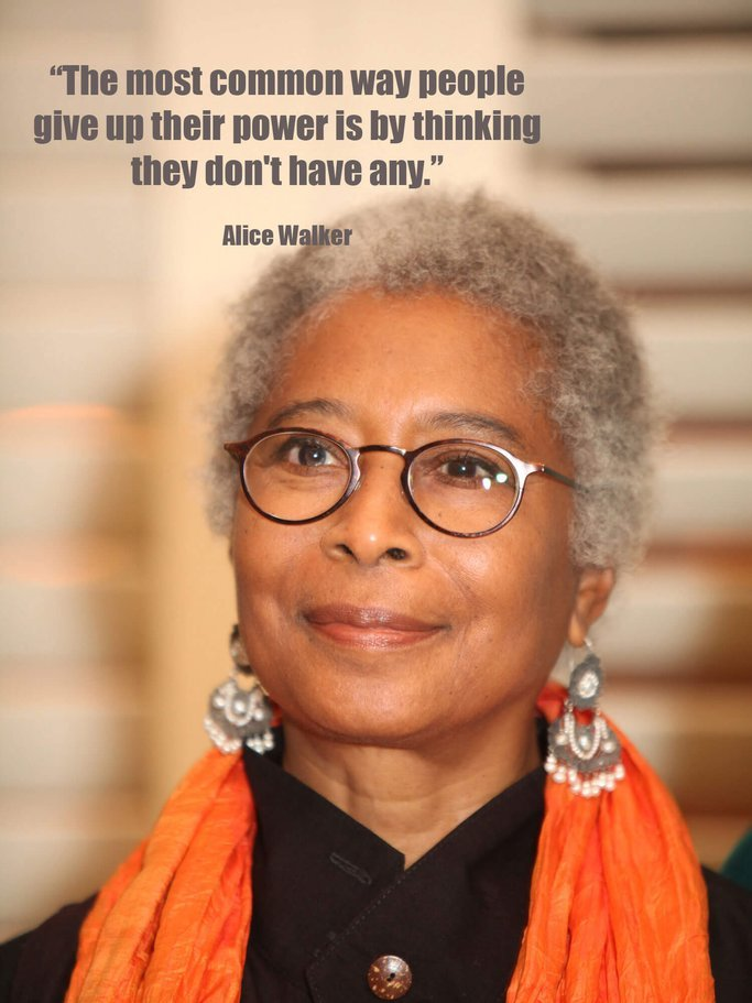 Alice Walker Zitat | © Getty Images | Monica Morgan