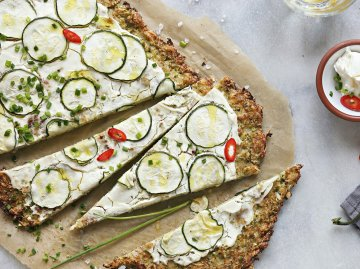 Low Carb Zucchini Pizza | © iStock | los_angela