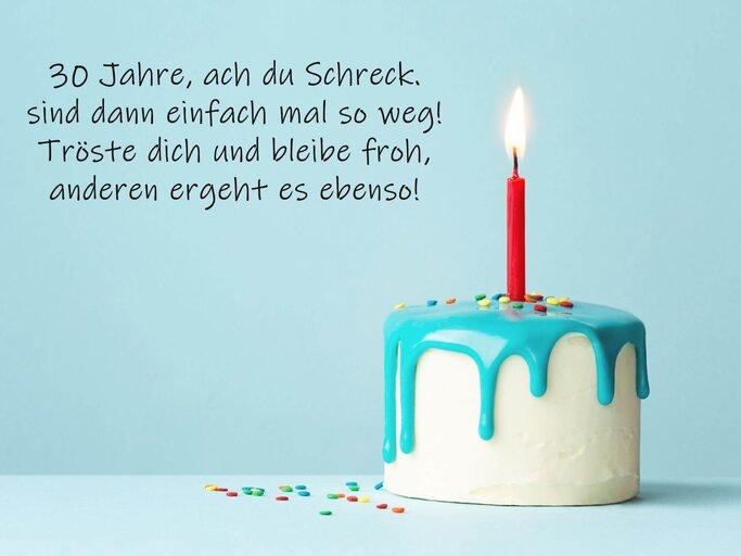 Geburtstagstorte gedicht Geburtstagssprüche: Lustige