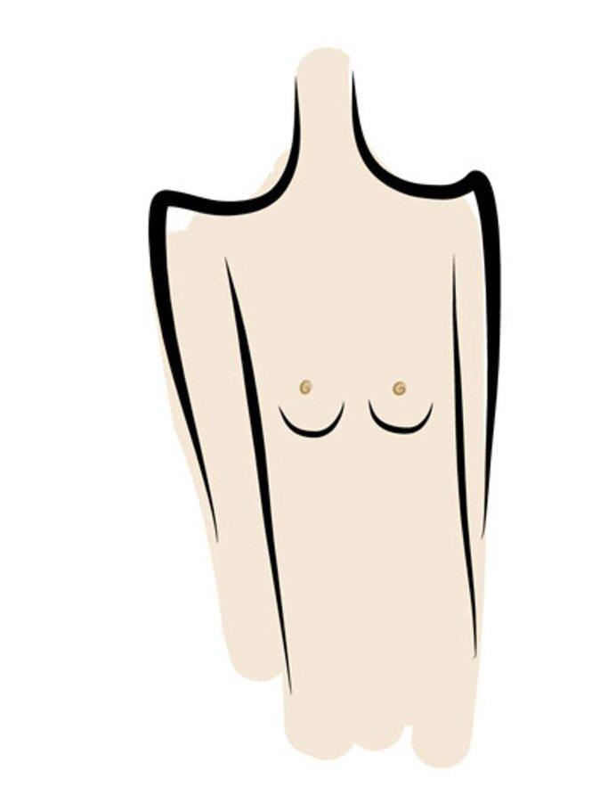 Tun hängende brust gegen was Hängende Brüste